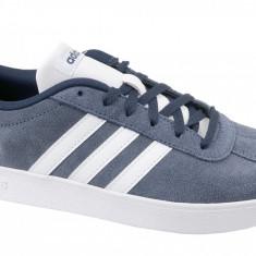Pantofi sport adidas VL Court 2.0 K DB1828 pentru Copii, 36 2/3, 37 1/3, 38, 38 2/3, Albastru