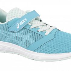Pantofi alergare Asics Patriot 10 PS 1014A026-400 pentru Copii, Albastru