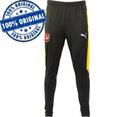 Pantalon Puma Arsenal pentru barbati - pantaloni originali - conici