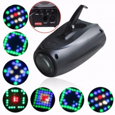 SCANNER LUMINI DISCO MOTORIZAT MULTICOLOR.LUMINI DISCO PROFESIONALE.