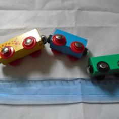 Bnk jc Trenulete de lemn - lot 3 vagoane