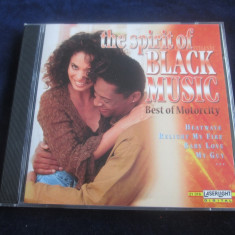 Various - The Spirit Of Black Music _ cd,compilatie _ Laser Light(Germania,1999)