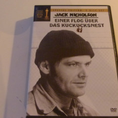 zbor deasupra unui cuib de cuci - jack nicholson -2 dvd