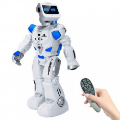 NOU! MEGA ROBOT INTELIGENT 40CM,FUNCTIONEAZA CU APA,TELECOMANDA,SUNETE,LUMINI., Plastic, Unisex