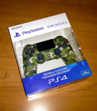 Controller PS4 - Green Camouflage ( V2 ), editie limitata , in cutie