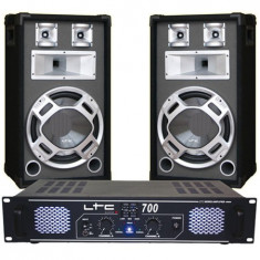 SET BOXE 12 inch BASIC GRI+AMPLIFICATOR LTC700