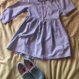 Rochie fetița, 7-8 ani, Albastru