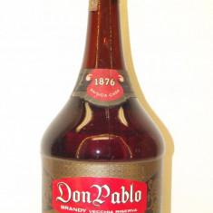 brandy  VECCHIA RISERVA, DON PABLO,distillato di vino cl 100  gr 40  anii 60/70