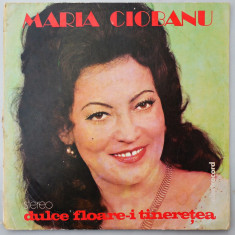 DISC LP VINYL - MARIA CIOBANU - DULCE FLOARE-I TINERETEA