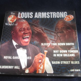 Louis Armstrong - The World Of Louis Armstrong _ dublu cd _ZYX ( Germania,1997)