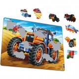 Puzzle Tractor, 37 Piese Larsen LRUS4 B39016886