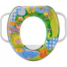 Reductor WC captusit cu manere Animals Lulabi 9090100 B3002293