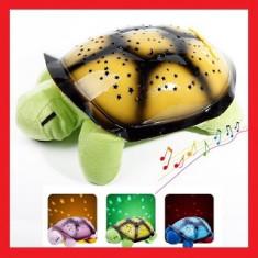Lampa Veghe Copii Proiector Tavan Broscuta Muzica Si Usb, Multicolor