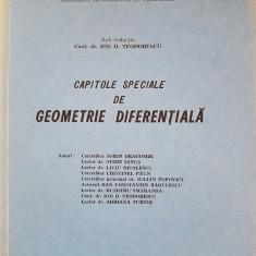 CAPITOLE SPECIALE DE GEOMETRIE DIFERENTIALA - Teodorescu