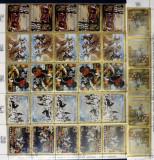 PANAMA- PICTURI CU TEMA VINATOARE-5X6 VALORI (5 SERII ) OBLITERATE - WS 162B