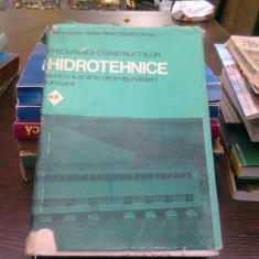Executarea constructiilor hidrotehnice pentru lucrarile de imbunatatiri funciare Nicolau Cezar vol.III