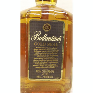 RARE BALLANTINES, GOLD SEAL SPECIAL ESERVE, AGED 12 YEARD cl 70 gr 40