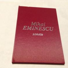 Sonete - Mihai Eminescu EDITIE DE LUX--RF14/3, William Shakespeare