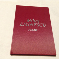 Sonete - Mihai Eminescu EDITIE DE LUX--RF14/3