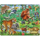 Puzzle Jungla, 20 Piese Larsen LRFH24 B39016867