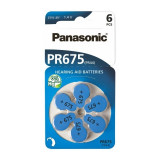 Panasonic 675 / PR675 / PR44 baterii aparate audit Set 2x Blistere