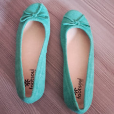 Balerini dama noi nouti piele marca Footsoul