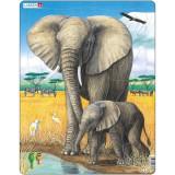Puzzle Elefant, 32 Piese Larsen LRD8 B39016771