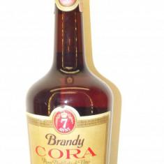 brandy cora puro distillato di vino, mai multi 7 ani, cl 70 gr 40 ani 70