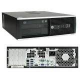 Sistem desktop Refurbished HP Elite 8300 Intel Core i5-3470 2.9 4GB DDR3 250GB HDD DVD Windows 10 Home Black