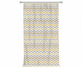 Draperie Chevron Trio Yellow Grey 140x270 cm