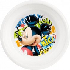 Farfurie adanca plastic Mickey Doodle Lulabi 8310102 B3502829