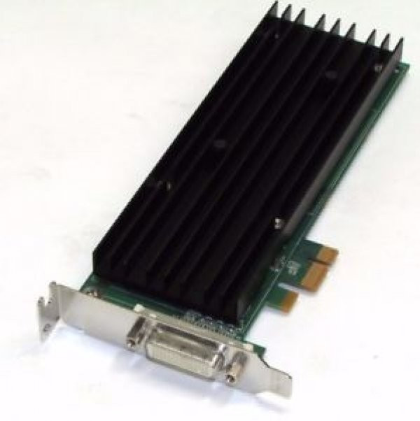 Placa video Low Profile, nVidia Quadro NVS 290, 256MB DDR2 , 1 x DMS59, Pci-e 1x + Adaptor DMS-59 la 2 porturi DVI