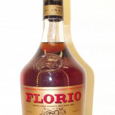 brandy FLORIO, brandy du sicilia,  mai vechi de 3 ani,   cc 750  gr 40  ani 70