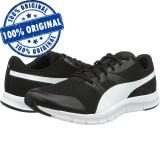 Pantofi sport Puma Flexracer pentru barbati - adidasi originali - alergare, 44, Negru, Textil