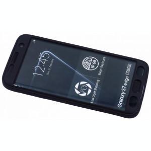 Husa Protectie Silicon 360 Grade Upzz Samsung S7 Negru
