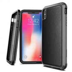 Husa Spate Premium Originala X-doria Lux Leather iPhone Xs Max