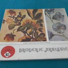 BRODERIE ARTISTICĂ/ LILIANA PODOLEANU, MIHAIL POPESCU/ 1988