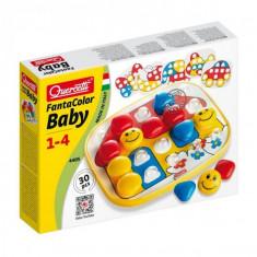 Joc Creativ Fanta Color Baby Constructii Mozaic, Quercetti