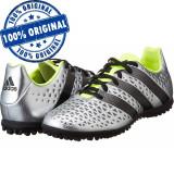 Pantofi sport Adidas Ace 16.3 pentru barbati - adidasi originali, 42, Argintiu