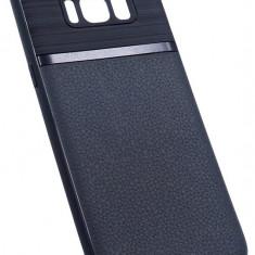 Husa Spate UPzz Auto Focus Silicon Soft Samsung S8 Negru