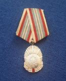 Medalie In serviciul patriei socialiste - decoratie - comunista