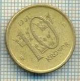 11694 MONEDA- SUEDIA - 10 KRONOR -ANUL 1991- MEDAL -STAREA CARE SE VEDE, Europa