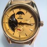 Ceas automatic Goer Day&Night Gold, Fashion, Mecanic-Automatic, Inox