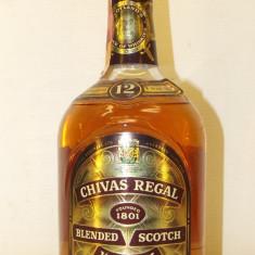 WHISKY, CHIVAS REGAL,  AGED 12 YEAR CL 75 GR 43 anni 60/70