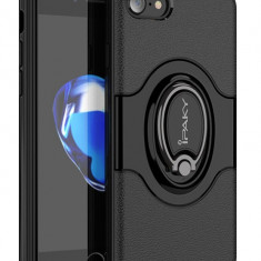 Husa Spate Ipaky Iring Magnetic iPhone 7 Negru