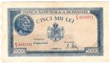Bancnota 5000 lei  15 decembrie 1944