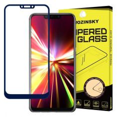 Folie Sticla Full Cover Full Glue Wozinsky Huawei Mate 20 Lite Cu Adeziv Pe Toata Suprafata Foliei Albastra