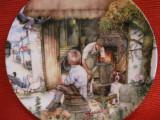 BRADEX FARFURIE DECORATIVA PORTELAN ROYAL DOULTON FINE CHINA OLD COUNTRY CRAFTS