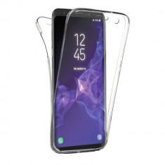 Husa 360 Grade Full Cover Silicon Samsung S9+ Plus Transparenta