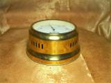 Cumpara ieftin Nautica! Baro-termomentru Mid Century, alama, colectie, vintage